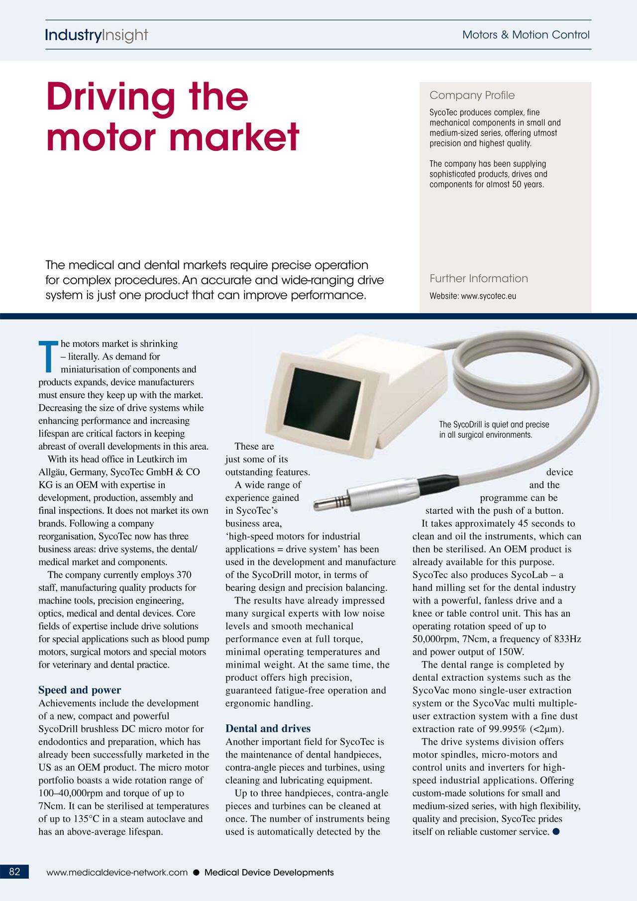 IndustryInsight: Driving the motor market