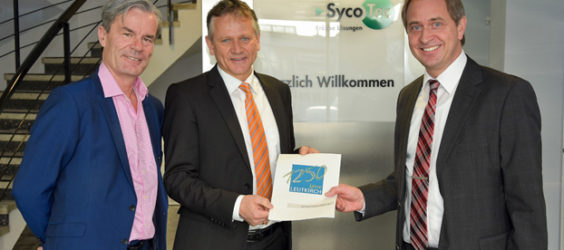 SycoTec unterstützt Stadtjubiläum