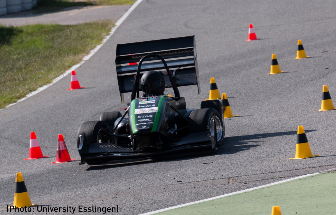 Formula Student Germany • E.Stall, also out in front again in 2016