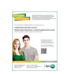 SycoTec bildet aus – Freie Ausbildungsplätze für 2020