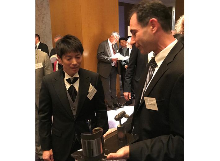 SycoTec representative Fukuda celebrates 70th company anniversary