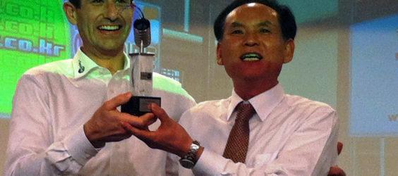 """Distributor of the Year Award"" für DG-Technology"