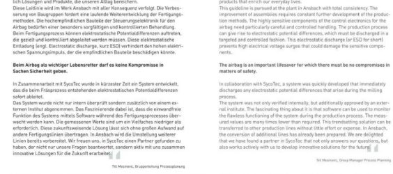 UPDATE Archiv • Perfekter Fertigungsschutz: Bosch baut auf SycoTec