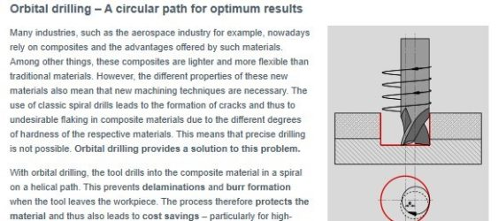 UPDATE Archive • Orbital drilling: A circular path for optimum results