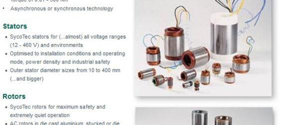 UPDATE Archiv • Prinzip Energierückgewinnung: SycoTec Motorelemente von 5 bis 600 kW